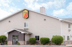Image of building exterior Super 8 hotel for sale in Nebraska